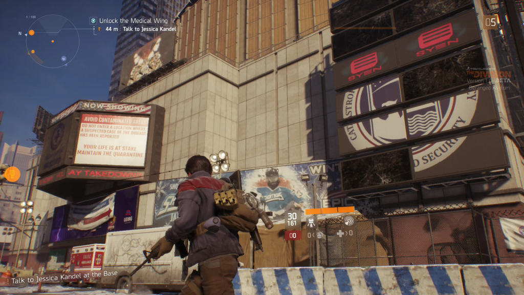 The Division Xbox One Test REview Critique