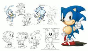 Sonic Neogaf concept art