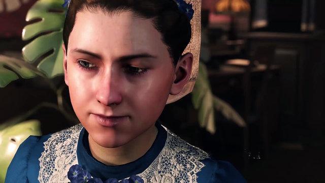 Katelyne, la fille adoptive de Holmes
