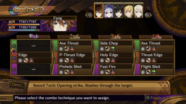 Image result for fairy fencer f combo