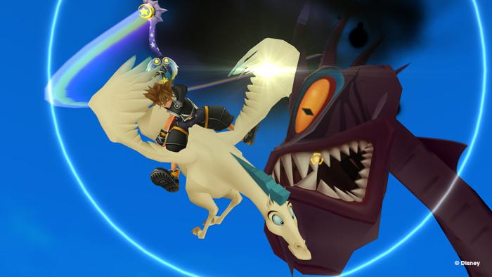 Kingdoma Hearts 2 propose des QTE non seulement très bien fichus mais en plus visuellement incroyables