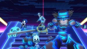 Loin de la suite très peu inspirée, Sora visite le monde original de Tron !