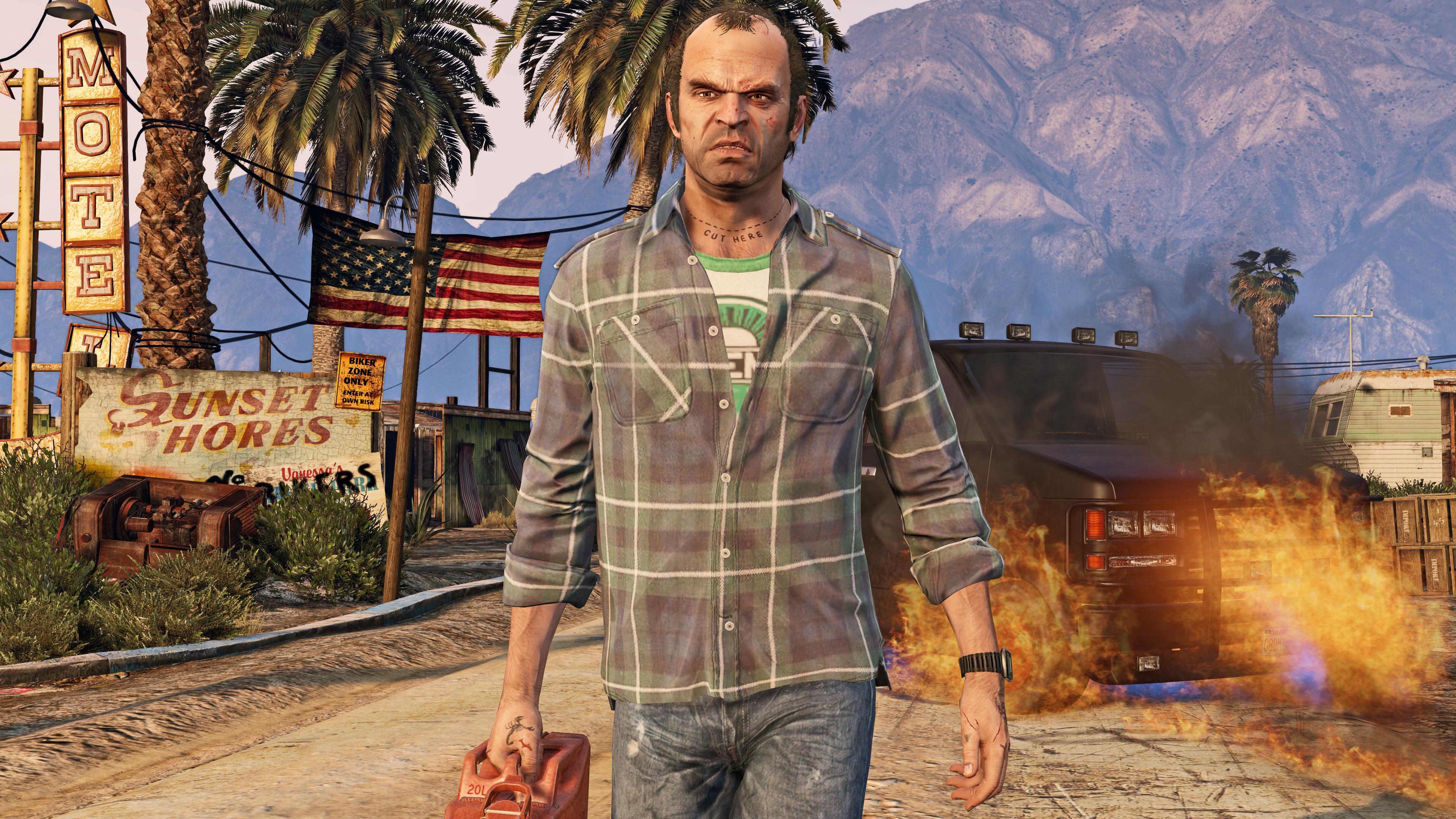GTA V Image du jeu sur PC 4K Trevor