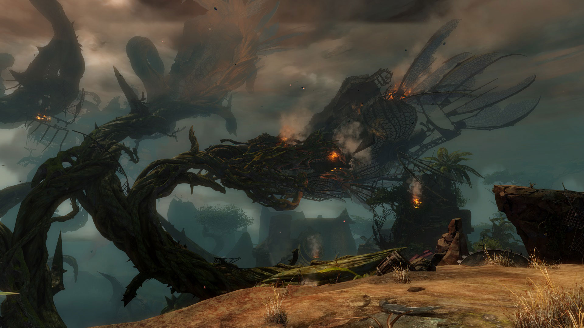 Guild Wars 2 Heart of Thorns Image du jeu sur PC