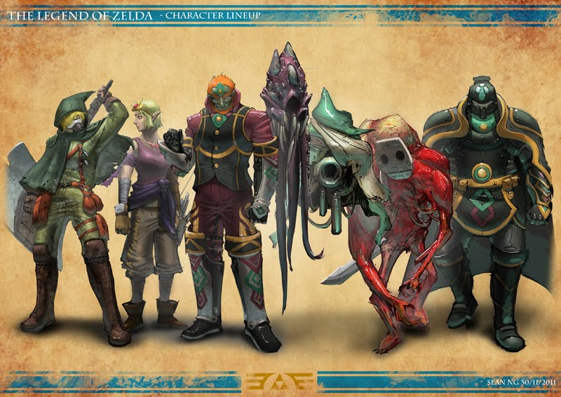 Zelda sci-fi lineup
