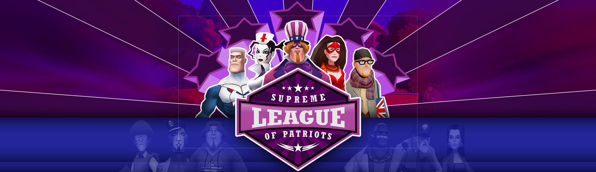 Supreme league of patriots test critique
