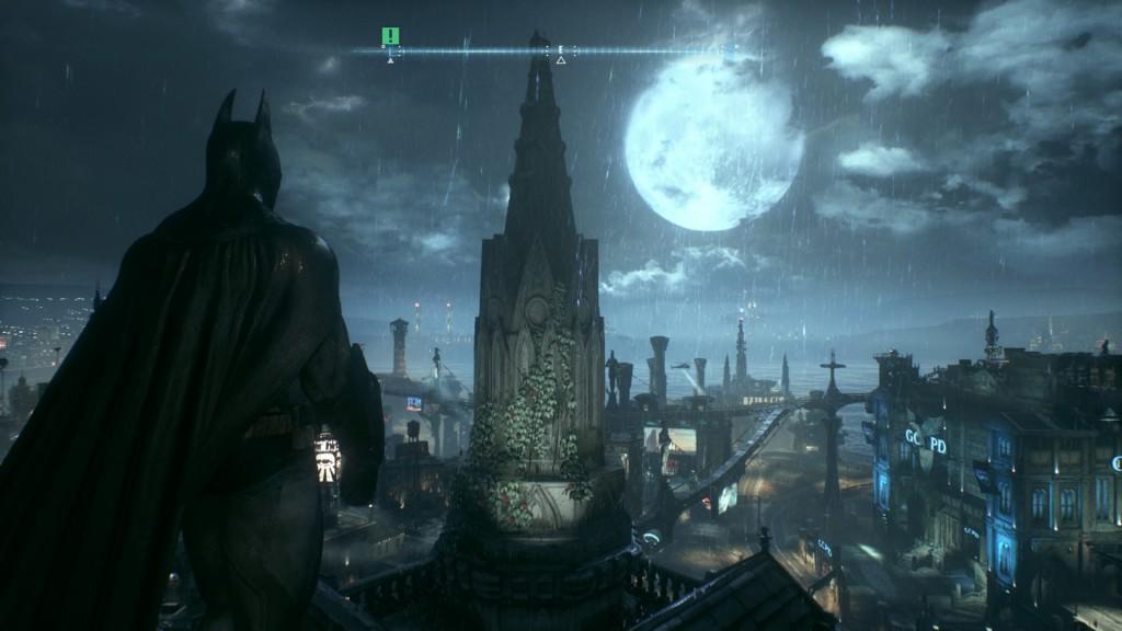 Une pleine lune, de la pluie, des éclairs et des maniaques dans les rues. Bienvenue à Gotham