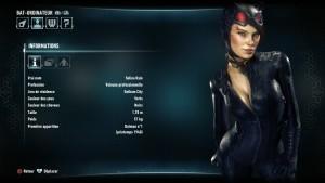 L'encyclopédie du jeu est complète et renseigne quand il le faut sur les différents protagonistes