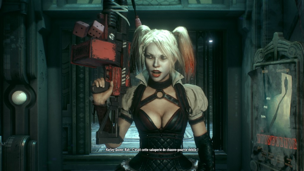 Harley Quinn est de retour ici et bien décidée à venger son Monsieur J