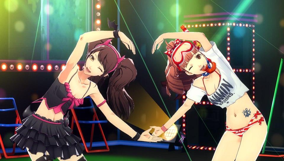 Persona 4 Dancing All Night fusion