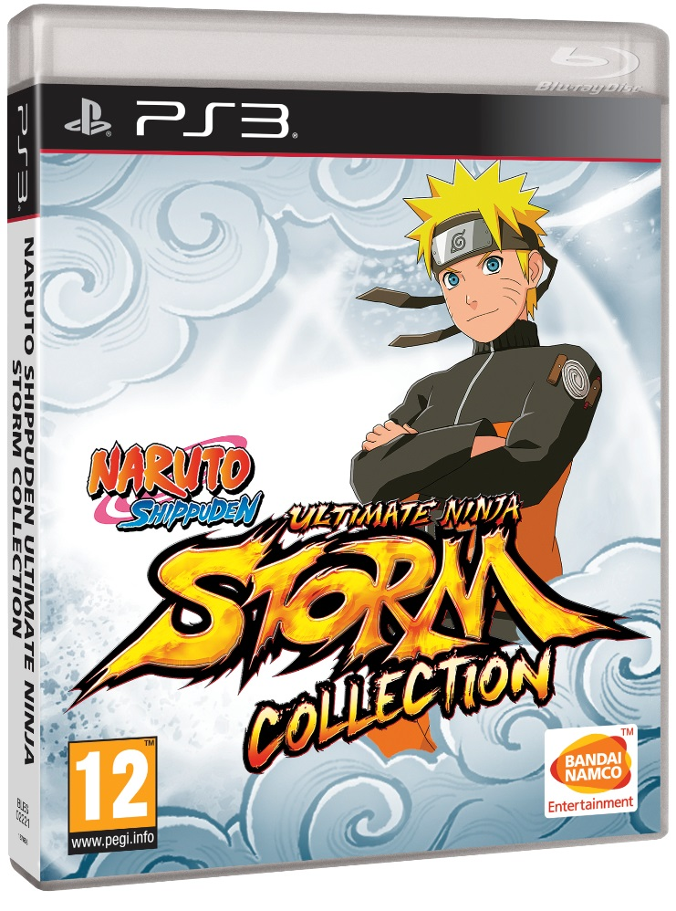 Naruto Shippuden Ultimate Ninja Storm Collection jaquette du jeu