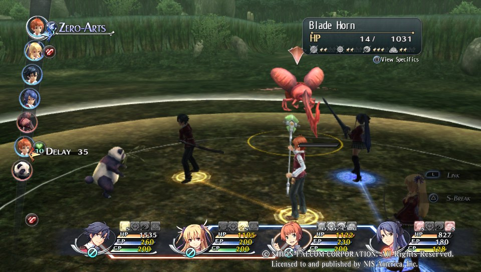 legend of heroes trails of cold steel combat-deplacement