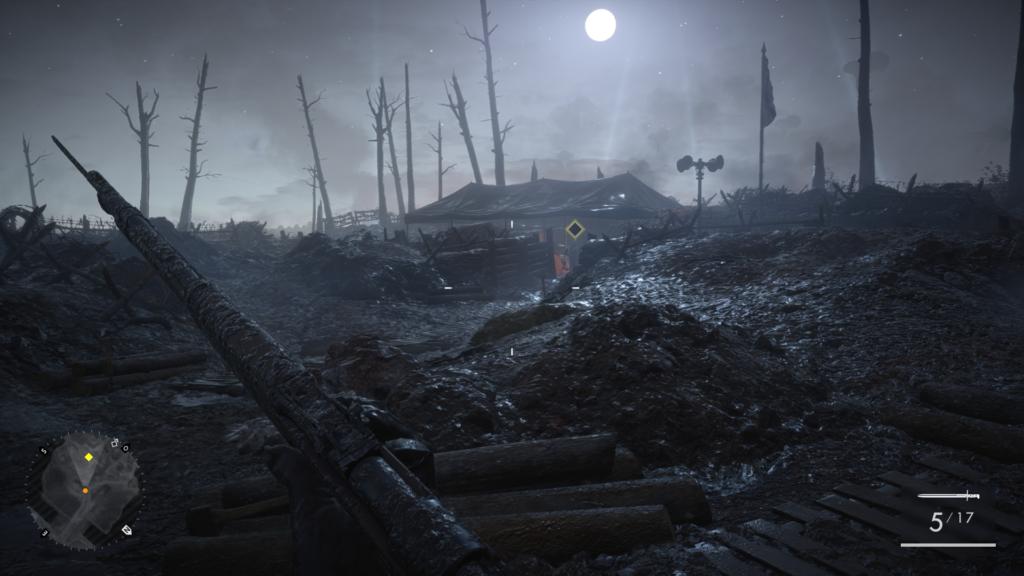 Screenshot de Battlefield 1 sur Ps4
