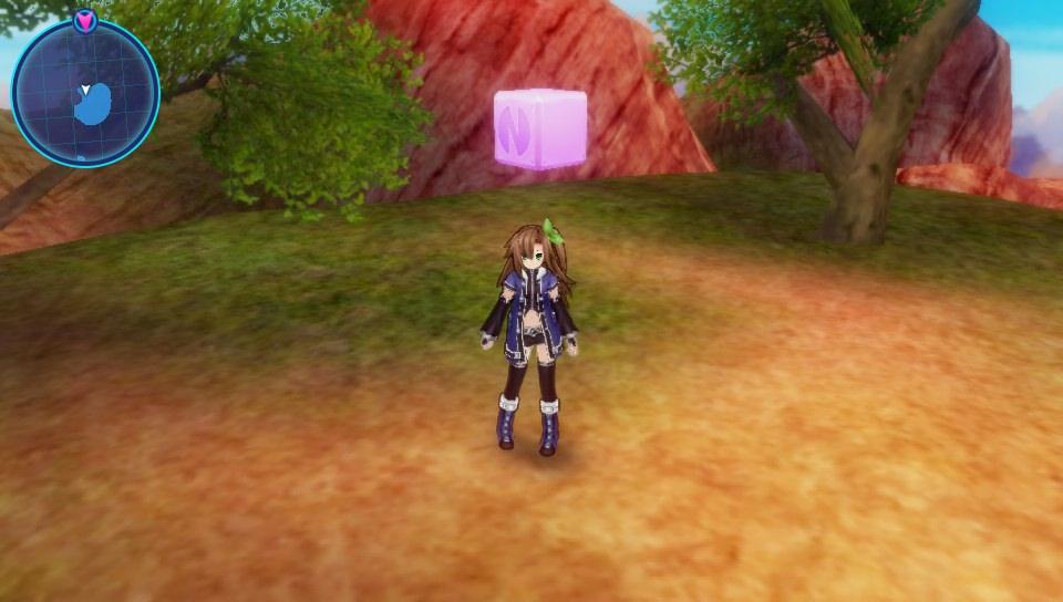 Superdimension Neptune VS Sega Hard Girls texture