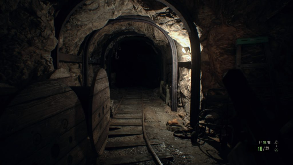 Screenshot de resident evil 7 biohazard sur ps4 mine
