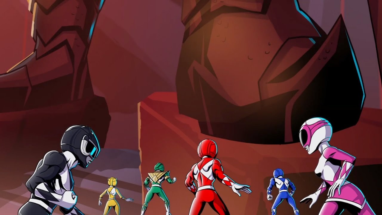power rangers mega battle une