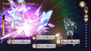 Atelier Firis The Alchemist and the Mysterious Journey combat