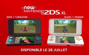La New Nintendo 2DS XL arrive en juillet