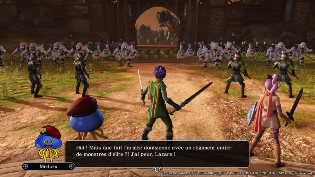 Dragon Quest Heroes 2 : Combats