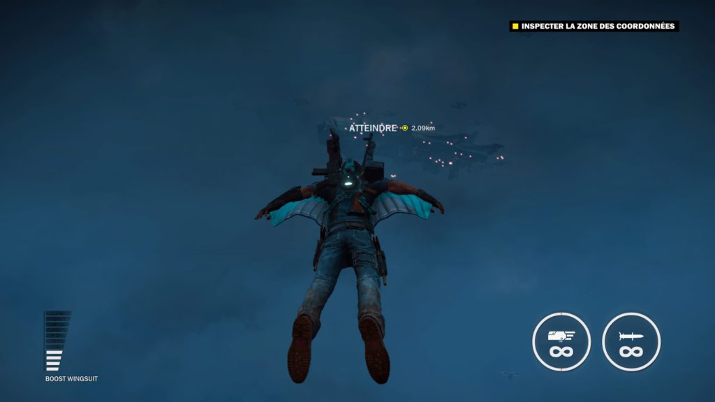 Juste Cause 3 Gold edition nouvelle wingsuit