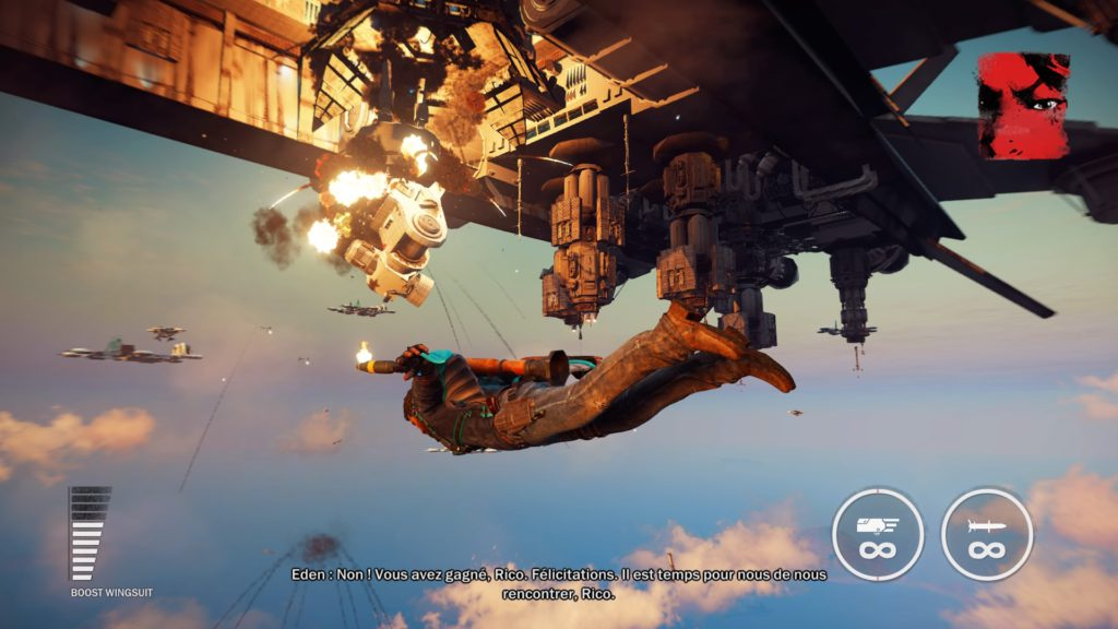 Just Cause 3 Gold Edition wing suit