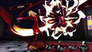 Persona 5 système de combat