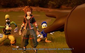 Une figurine Nendoroid de Sora de Kingdom Hearts
