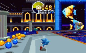Sonic Mania aura des Special Stages