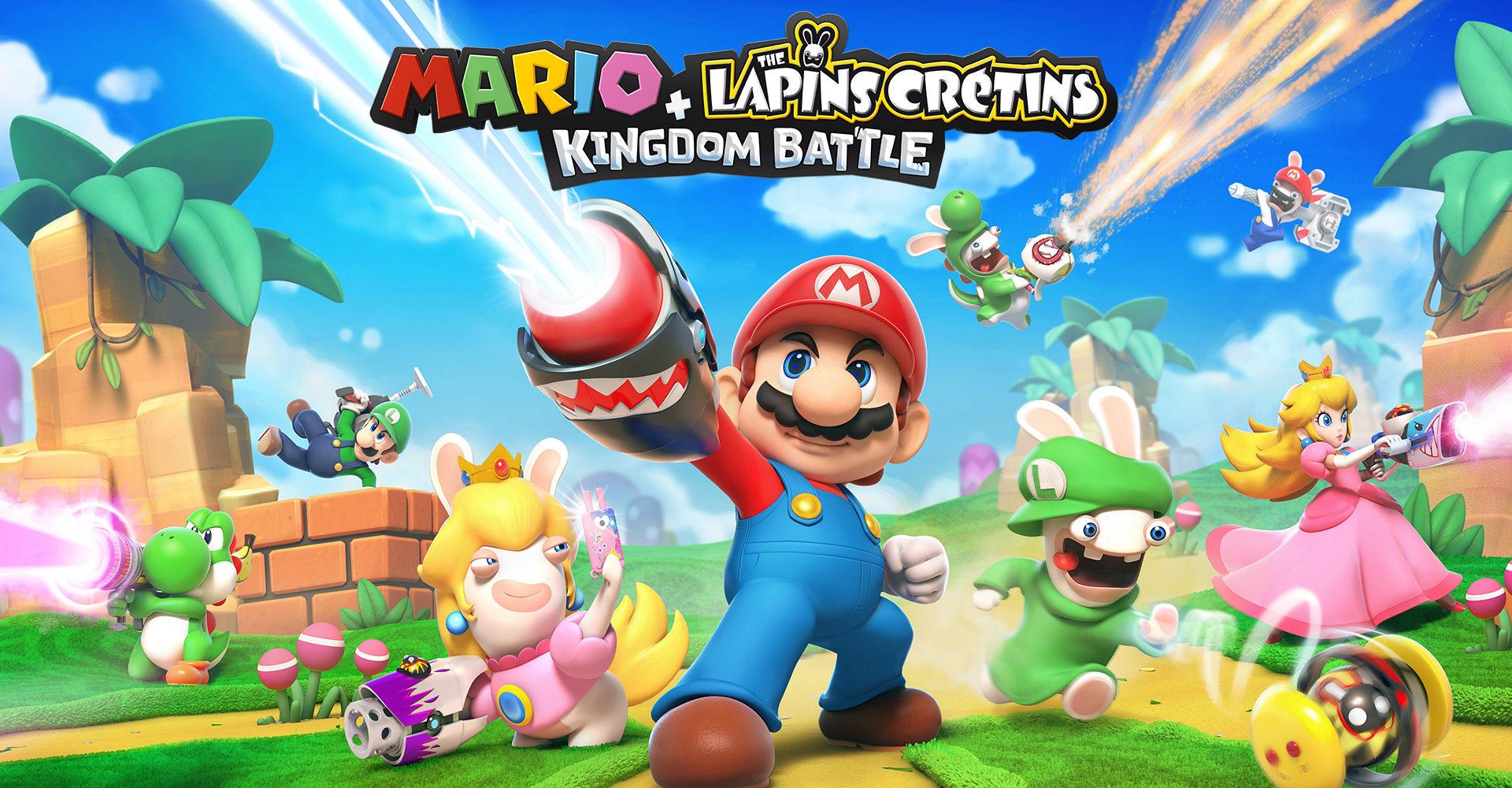 Mario et les Lapins Crétins débarquent en trombe sur Switch !