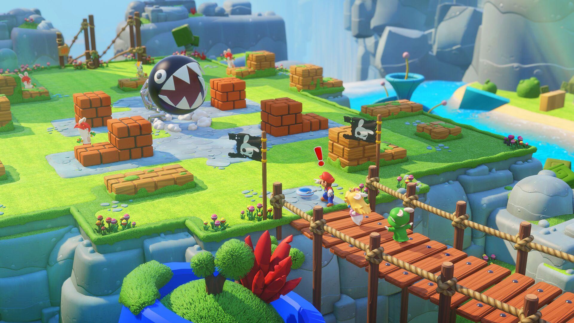 Le jeu Mario et les Lapins crétins sort des studios Ubisoft