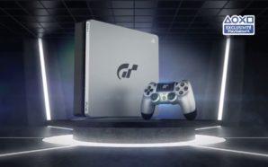 Une PS4 aux couleurs de Gran Turismo Sport