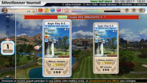 Everybody's Golf sélection de tournois