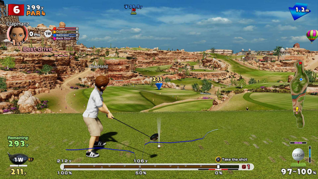 everybody's golf ps4 coup precis