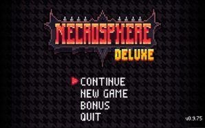 Test : Necrosphere – Die and retry RetroNecro