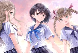 BLUE REFLECTION image a la une