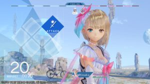 BLUE REFLECTION interface de combats