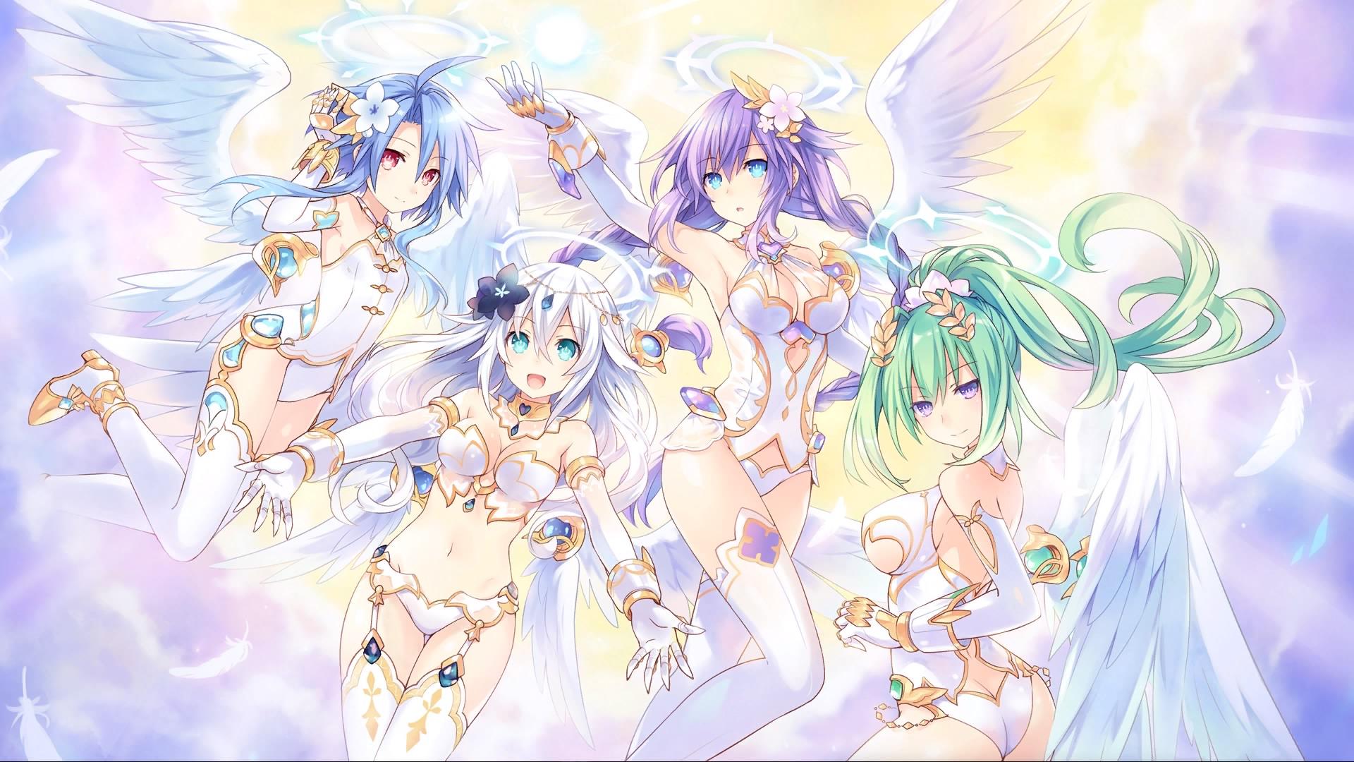 Cyberdimension Neptunia 4 Goddesses Online image a la une