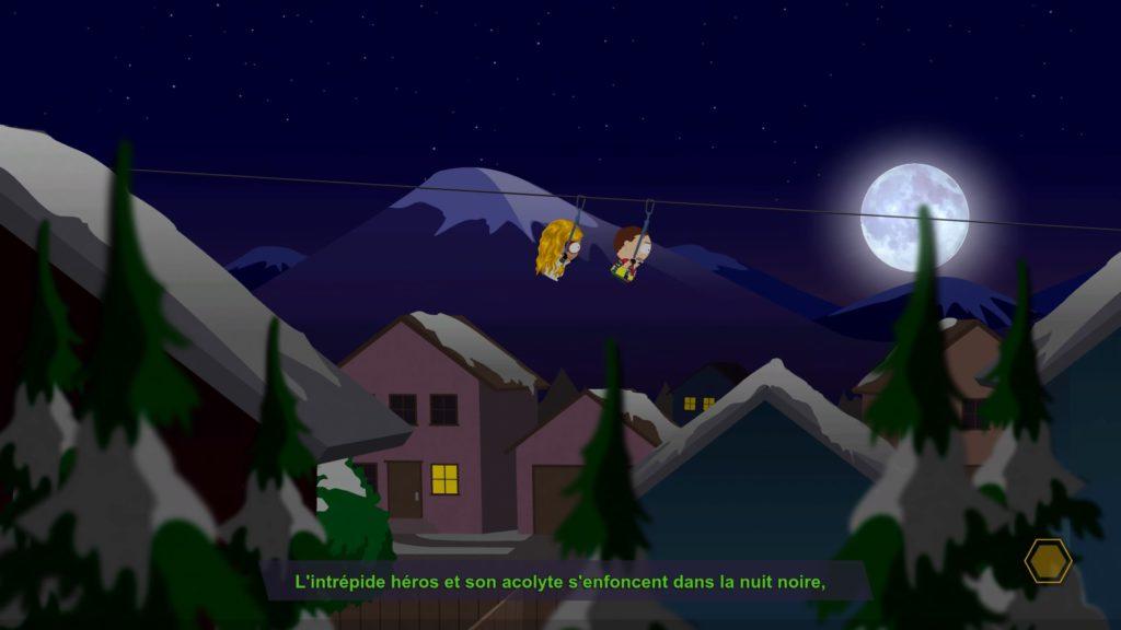 South Park L'Annale du Destin super héros en action