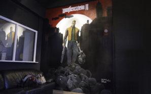 Wolfenstein II : Timelapse de la fresque de Matthew Dawn
