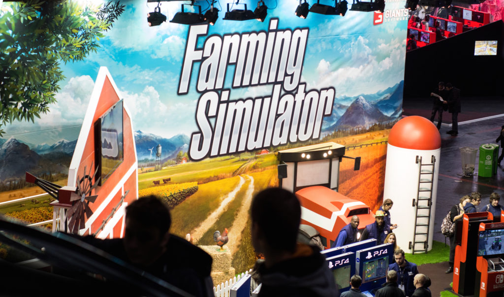 Farming Simulator switch 2017
