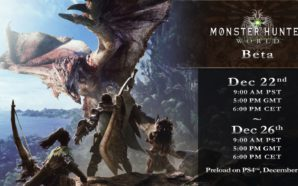 La bêta de Monster Hunter : World revient du 22…