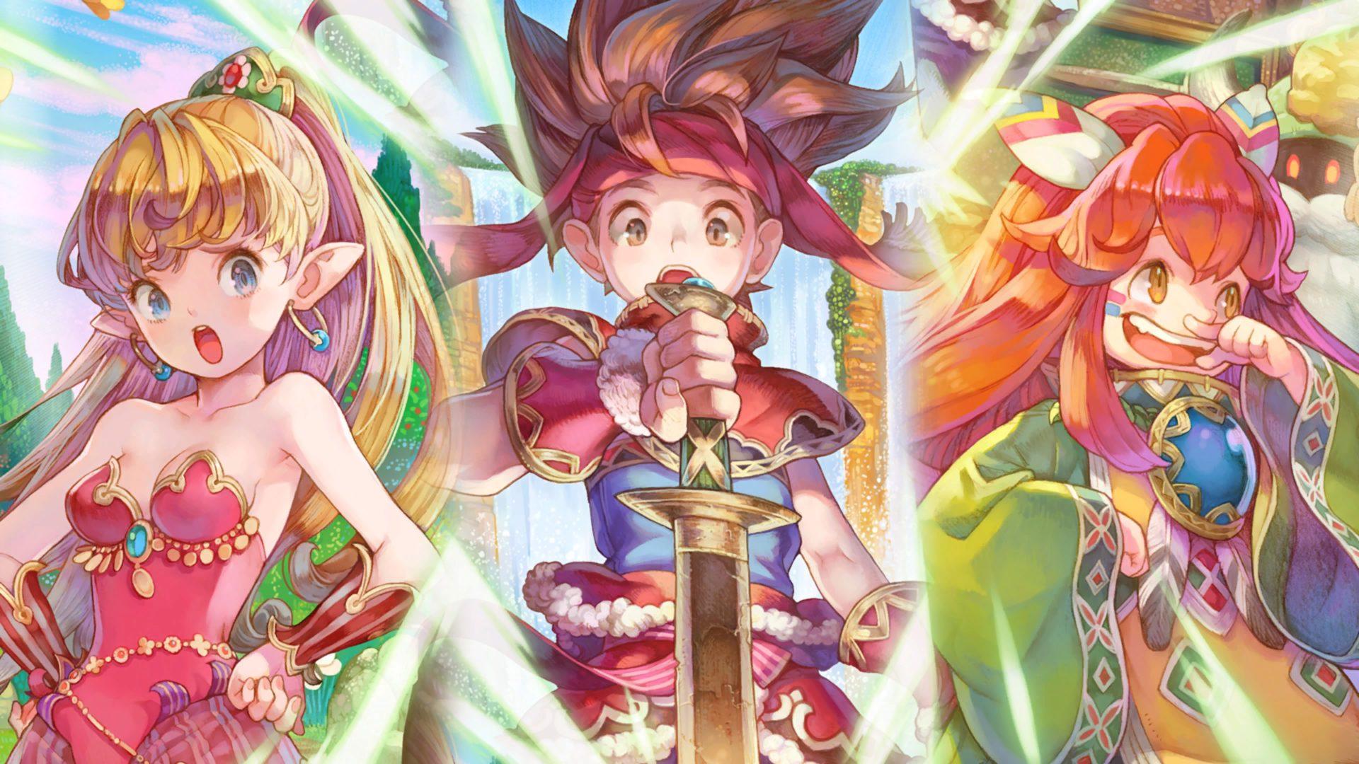 L'aventure magique de Secret of Mana lancée !