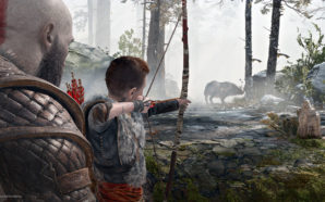God of War PS4 child son père fils