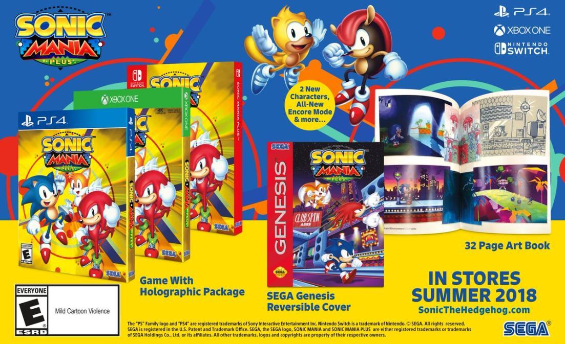 Une version Plus pour Sonic Mania