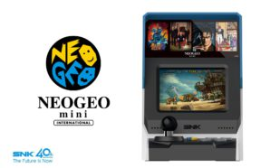 SNK officialise sa mini borne NeoGeo