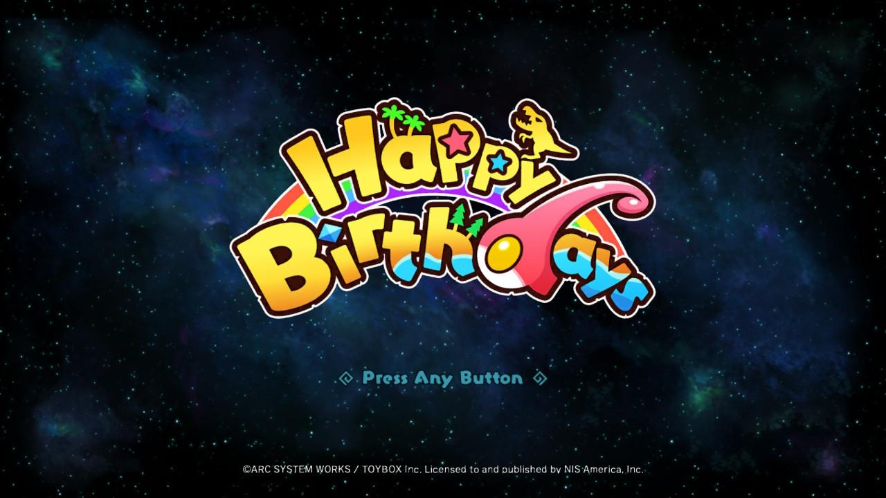 Happy Birthdays écran titre
