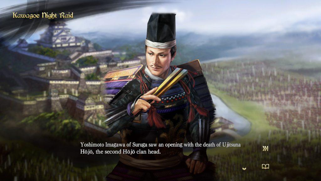 nobunaga's ambition taishi kawagoe night raid