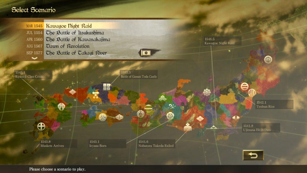 nobunaga's ambition taishi scenario