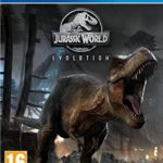 PS4 cover Jurassic World Evolution