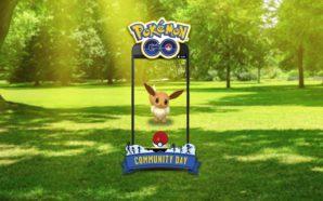 Évoli sera à la prochaine journée communautaire de Pokémon GO…
